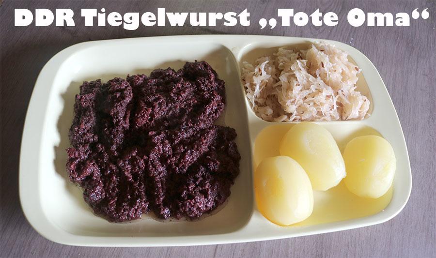 DDR Tiegelwurst, Tote Oma Rezept Lose Wurst