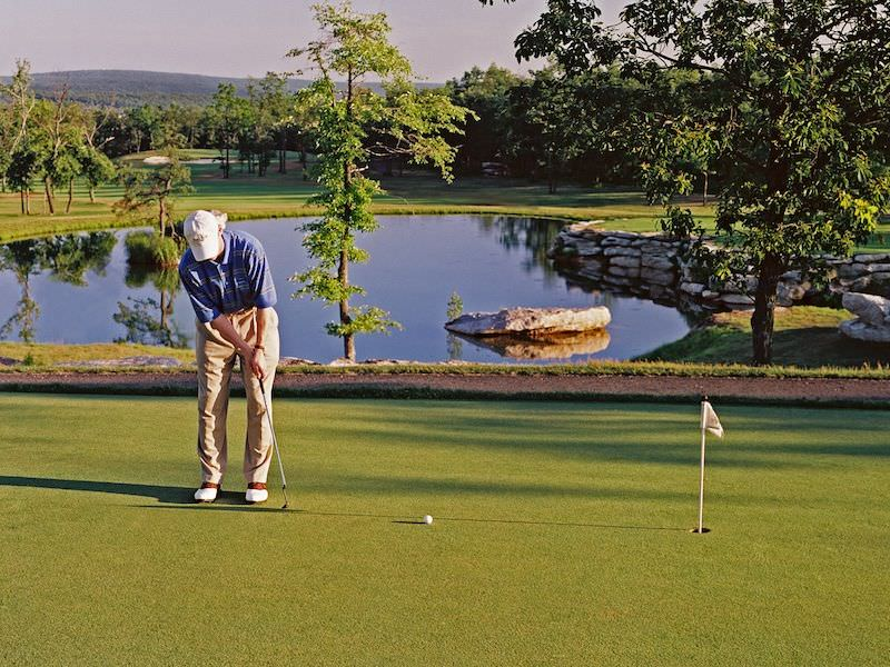 Photo of the Eagle Rock Golf Putting Green