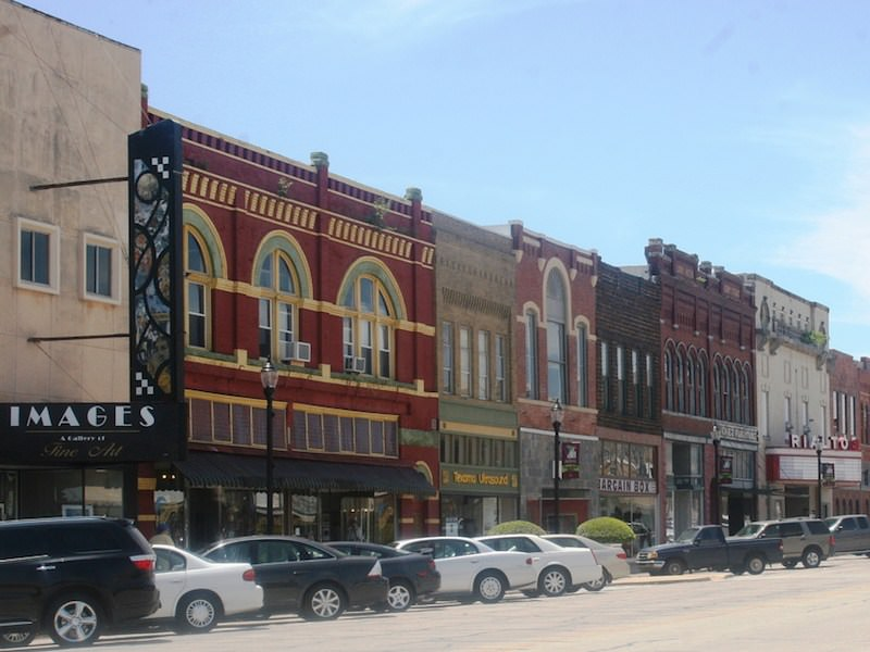 Photo of downtown Denison