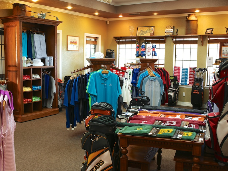 Photo of the Golf Pro Shop