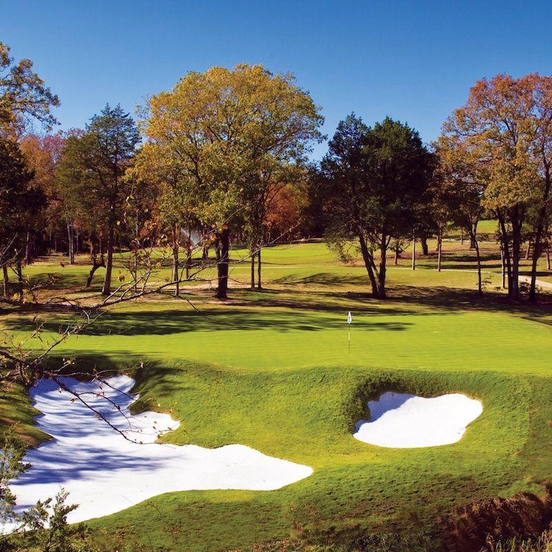 photo of a golf hole