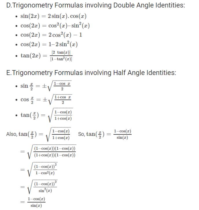 Formula Trigonometry-2