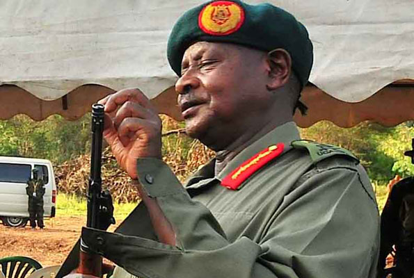 President Museveni plans a stage-managed palace coup‏