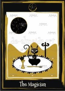 Black cat tarot - The Magician