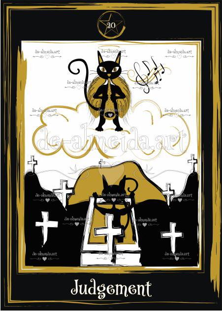 Black cat tarot - Judgement