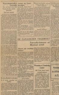 08-05-1945 De Waarheid artikel