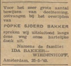 de Waarheid 9-6-1945