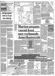 De Telegraaf 7 Mei 1982