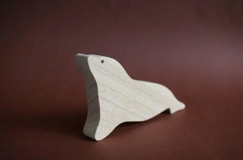Houten zeehond