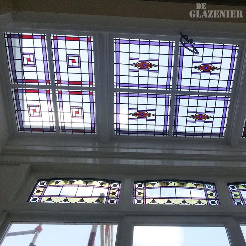 Glas in lood ontwerp