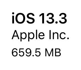 iOS13.3(17C54)リリース。3件の追加機能と13件のバグ修正と改善、14件のセキュリティ問題に対応。ただしモバイル通信の不安定、LivePhoto一時フリーズ、アプリハングなどが発生。まだ安定せず。