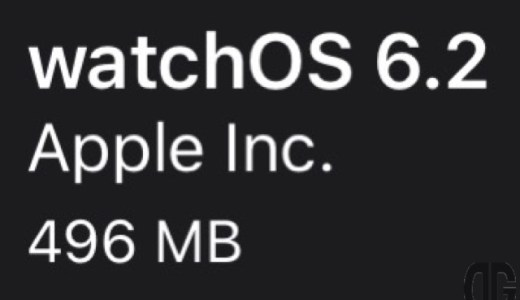 watchOS6.2(17T529)リリース。4件の新機能、バグ修正、改善と17件のセキュリティ問題(CVE)に対応したメジャーリリース。更新すべき?待つべき?所要時間、サイズ、導入後の不具合は?