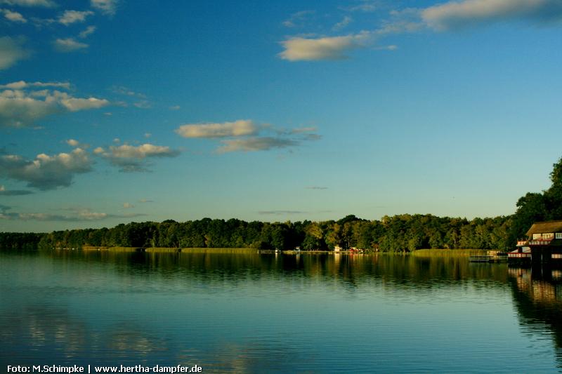 Ruhe und Idylle am Klempowsee im Naturparadies der Kyritzer Seenkette