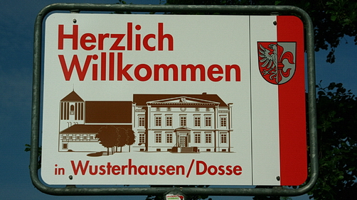 Willkommen in Wusterhausen Dosse