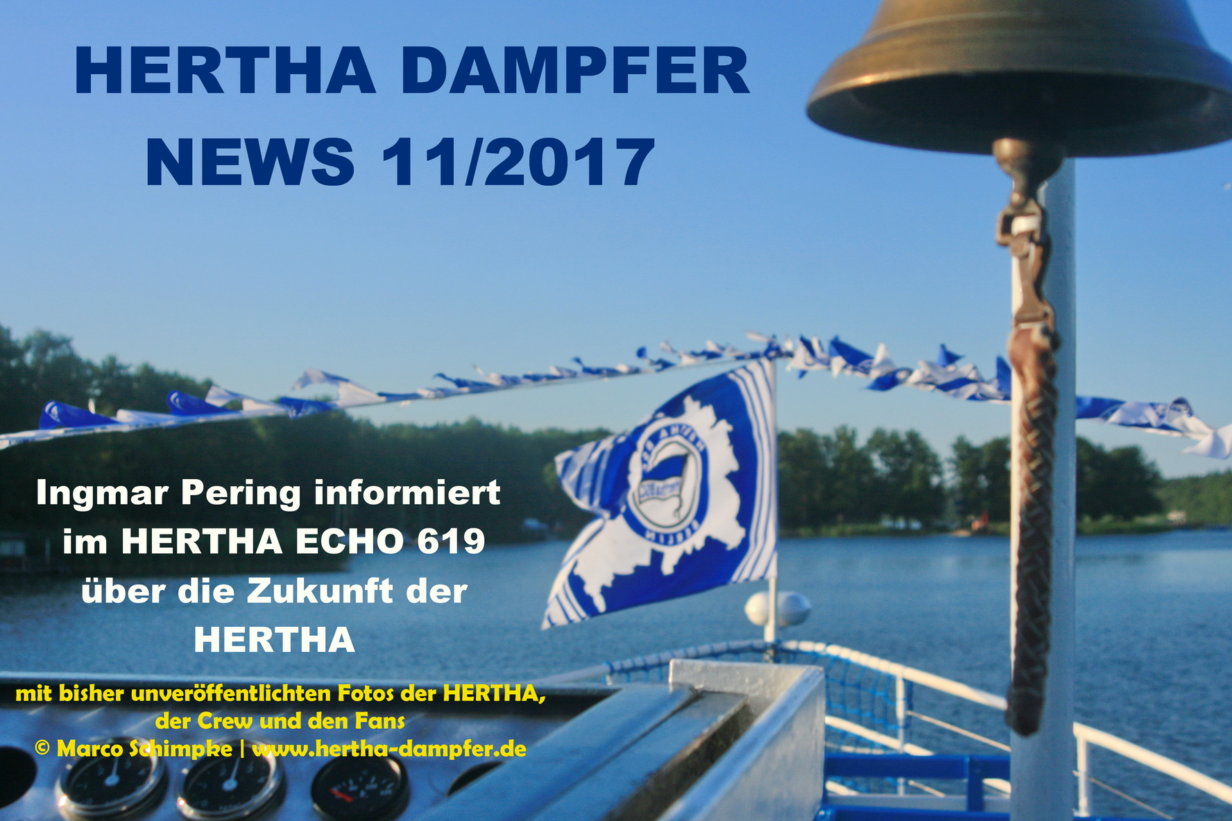 HERTHA DAMPFER News 11/2017
