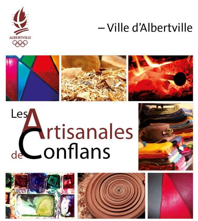 Les artisanales de conflans à Albertville