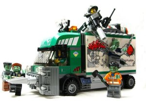 Lego Zombies - legotrashtruck