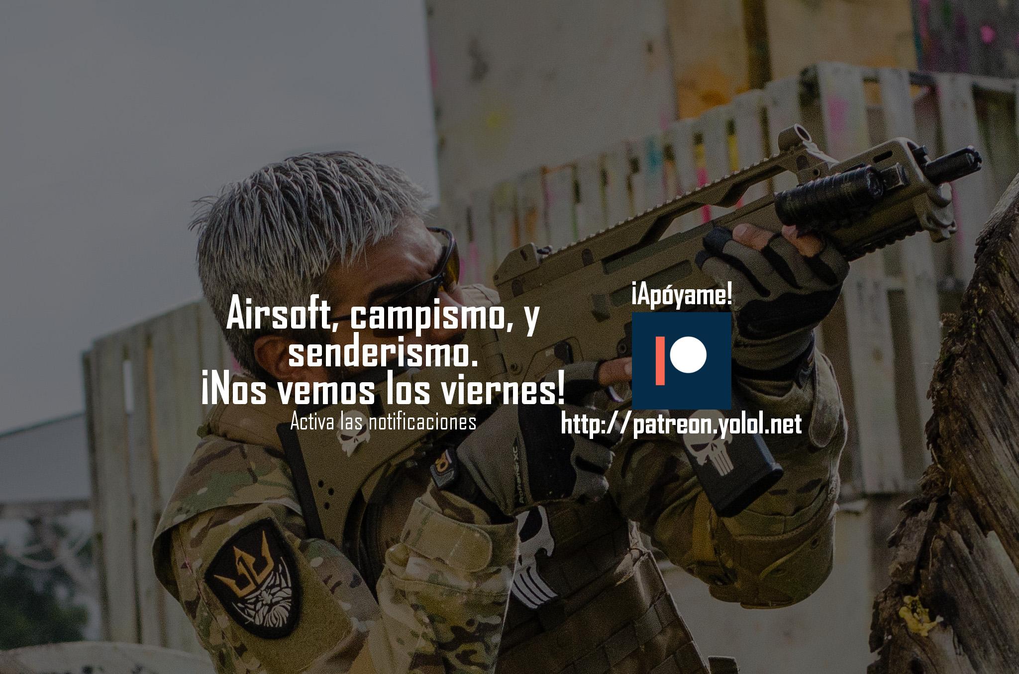 Airsoft en México ¡Juega Airsoft!
