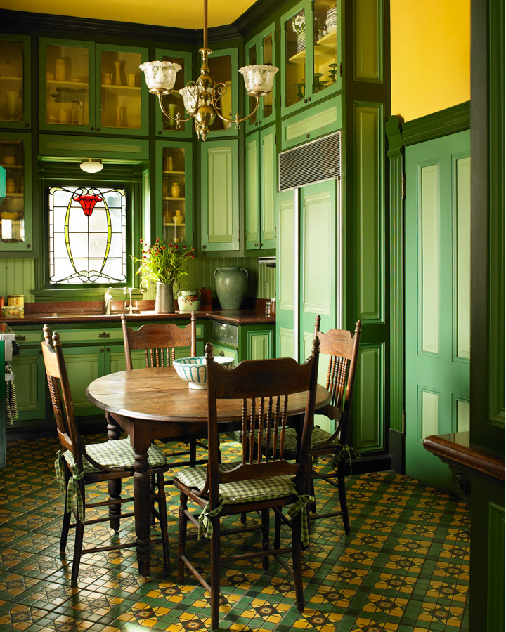 Victorian Dining Room: Authentic Victorian Interior Paint Colors