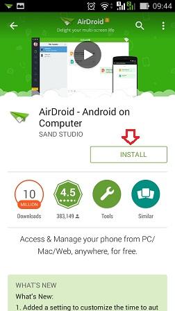 Download aplikasi di Playstore