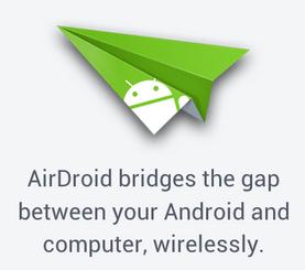 Simbol Aplikasi Airdroid