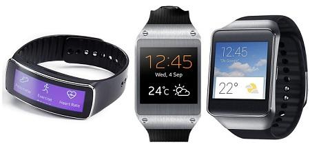 Samsung Smartwatch: Gear Fit, Gear 2, Gear Live