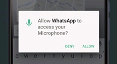 Android 6 Marshmallow: App Permissions