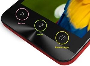Tombol Recent Apps Asus Zenfone