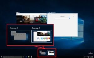 Windows 10: Virtual Desktops