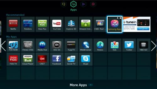 Cara download dan install aplikasi pada Smart TV Samsung - de-Tekno