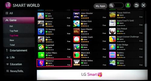 Cara install apps pada Smart TV LG