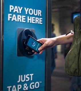 Pembayaran dengan teknologi NFC