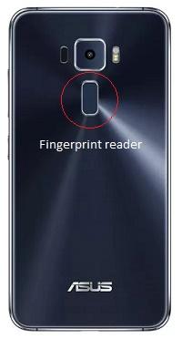 ASUS Zen3 - Setup pembaca sidik jari