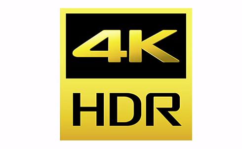 Sony 4K HDR logo