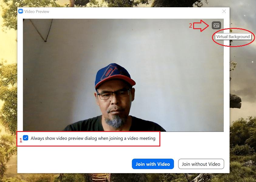 mengganti Virtual Background Zoom-3