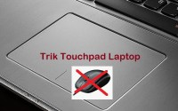 Touchpad laptop