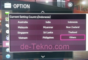 mengganti Services Country LG Netcast