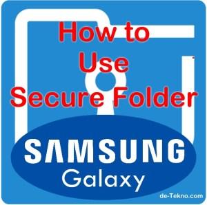 Secure folder hp Samsung