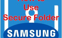 Secure folder hp Samsung