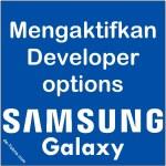 Mengaktifkan Developer options Samsung