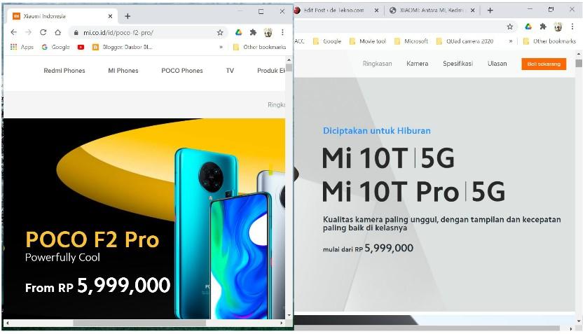Mi 10T Pro vs Poco F2 Pro