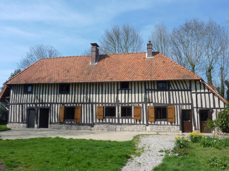 Maison normande F5 prox Saint Romain
