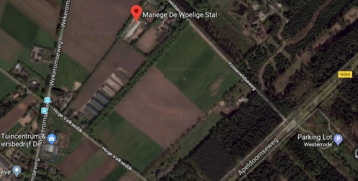map manege de woelige stal