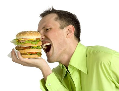 Unausgewogene Ernährung und Bewegungsmangel