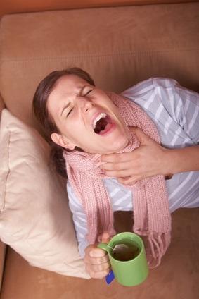 Natürliche Heilmittel für Halsschmerzen