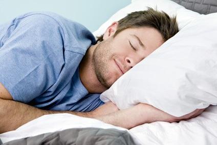 Gut schlafen und sich erholen