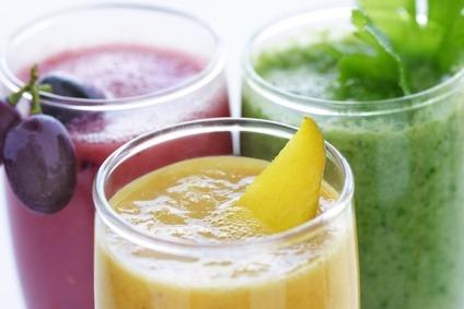 Medizinische Präparate zum verjüngen mit Obst und Gemüse