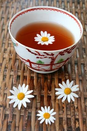 Kamille, heilt den Magen und mehr