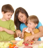 Das Frühstück, eine wichtige Mahlzeit für Kinder