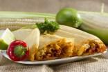 Traditionelle mexikanische Tamales